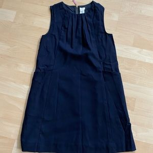 J Crew Crewcuts Girls Navy Wool Dress 12